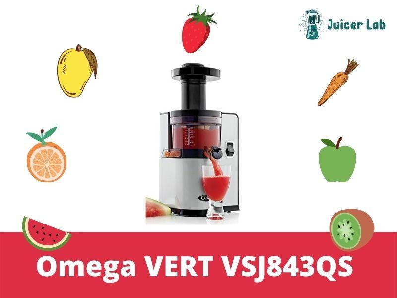 Omega VERT VSJ843QS Juicer