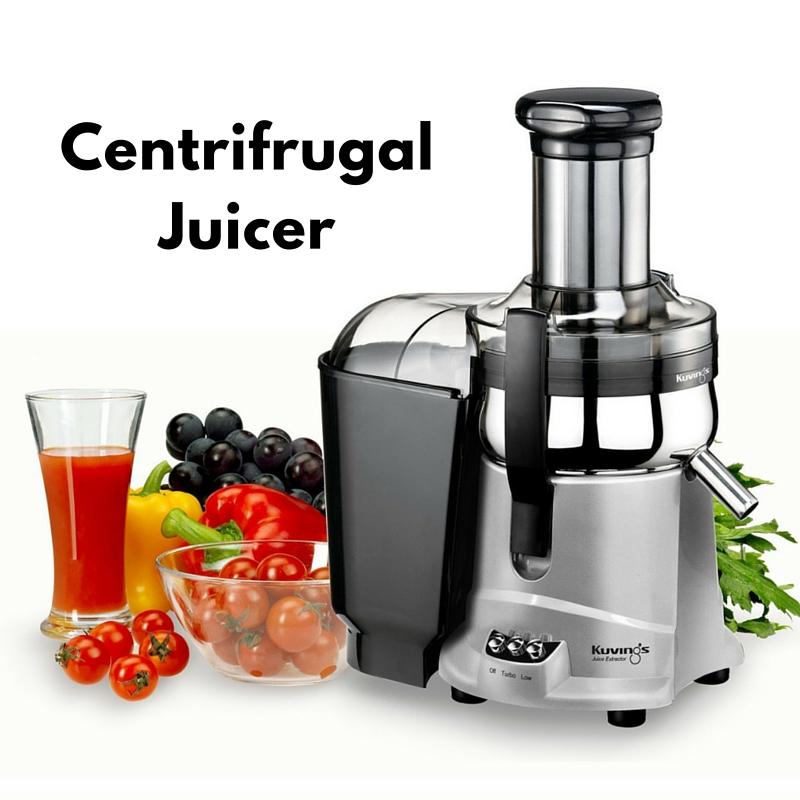 Centrifrugal juicer