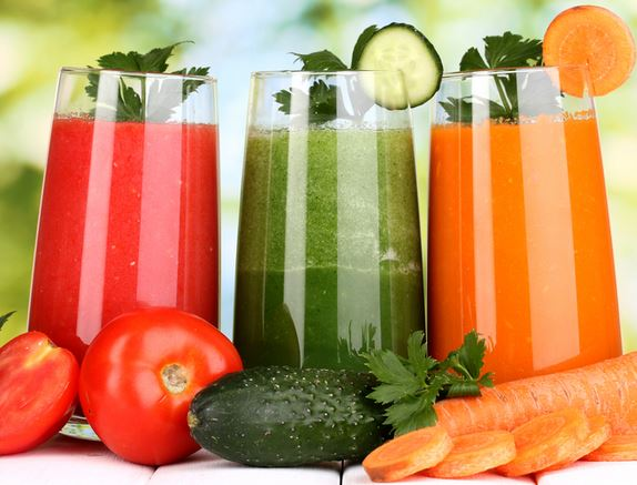 juicing with juicer
