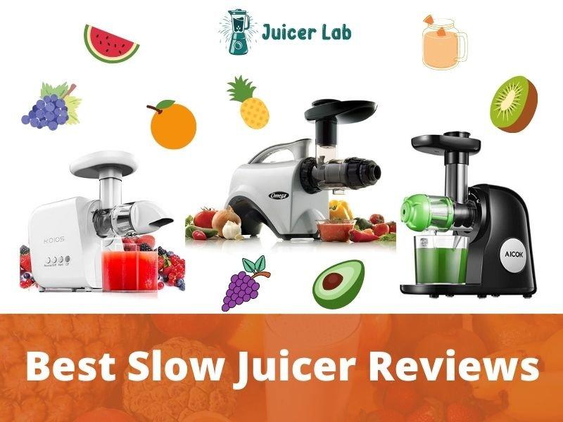 Best Slow Juicer Reviews