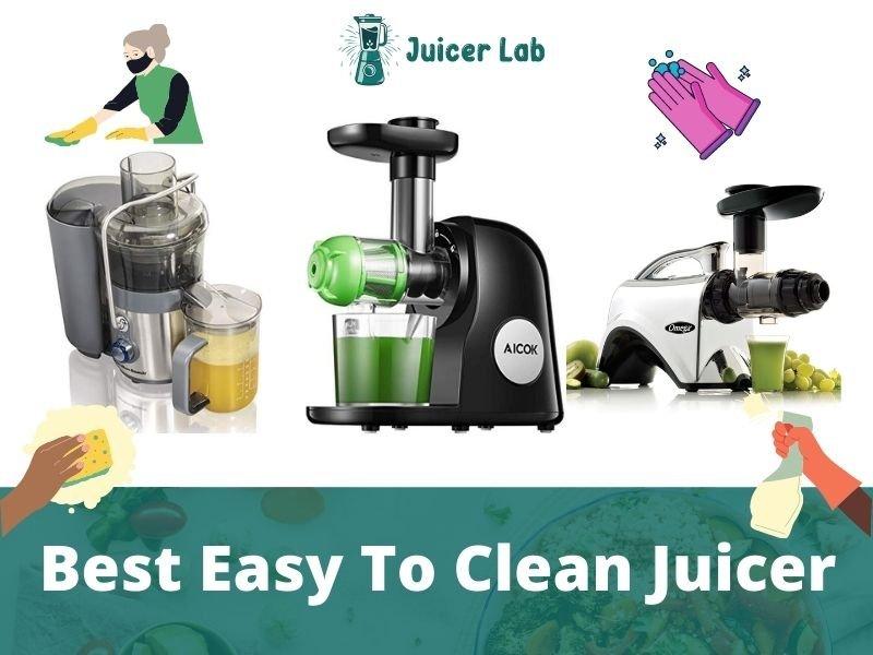 Best Easy To Clean Juicer
