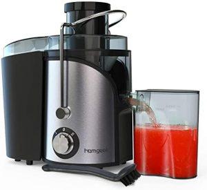 Homgeek Dual Speed Small Juicer