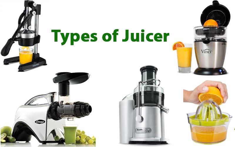types of juicer brands