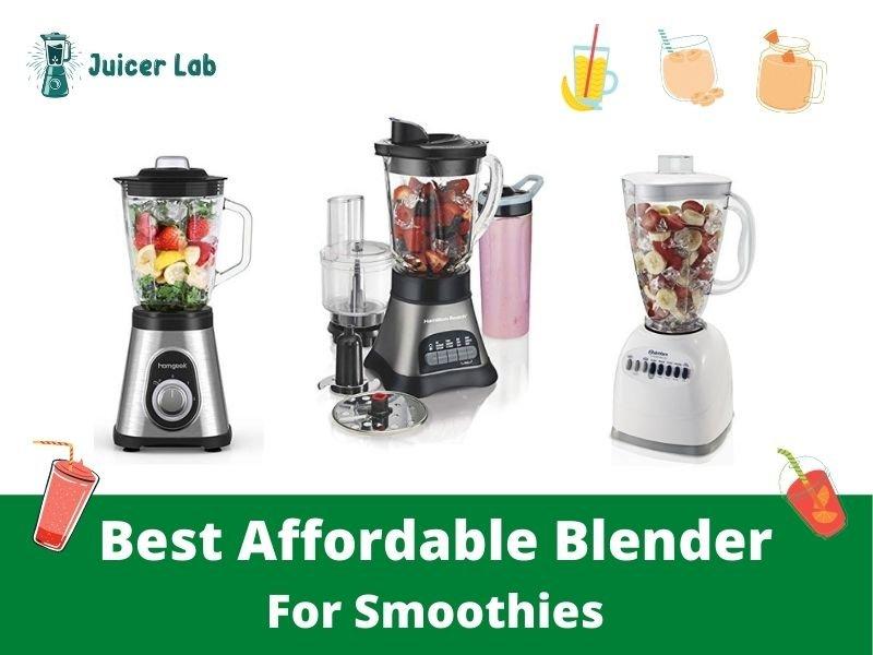 Best Affordable Blender For Smoothies