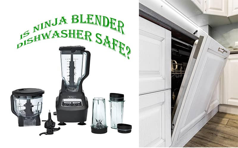 can the ninja professional blender go in the dishwasher