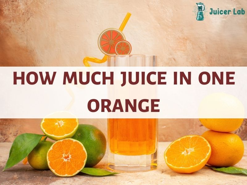 How Much Juice In One Orange – Everything You Should Know